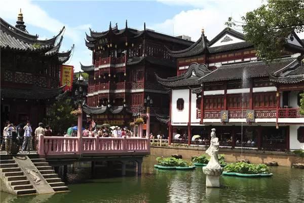 上海豫园平面图高清