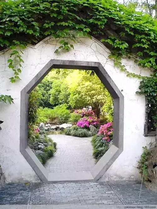 中国园林洞门 别有洞天图片