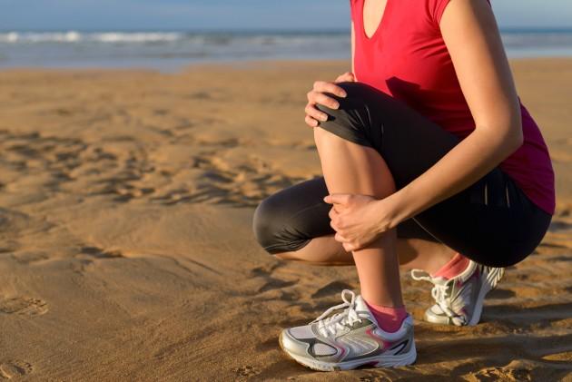 运动后全身酸痛能减肥图片