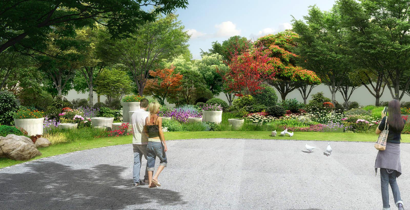 雨水花园-海绵城市理论与运用实践初探图片