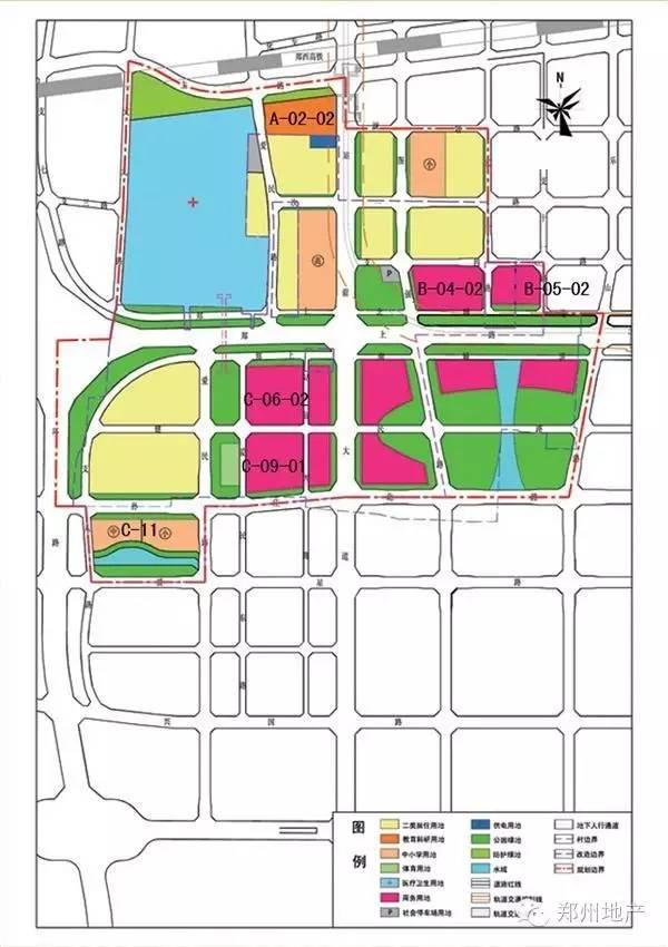 郑州龙子湖规划图高清