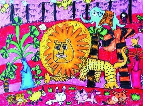 其它 正文  大狮子美好的一天  □陈伊人(作者系浦东新区临沂五村幼儿图片