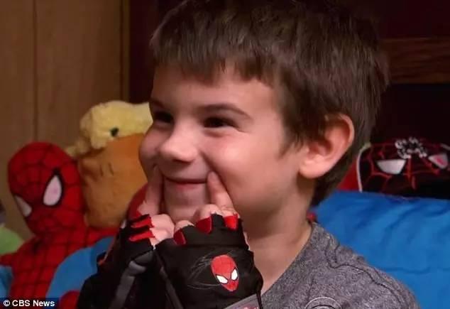 jaden最喜欢的超级英雄是蜘蛛侠