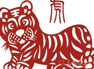 老虎全身剪纸步骤图片