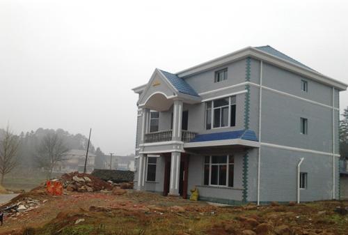 新农村房屋外墙效果图