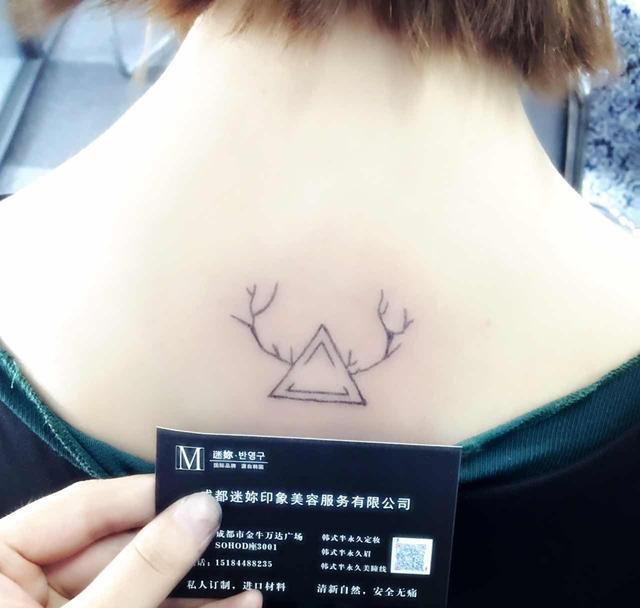 半永久小纹身,未来的流行趋势