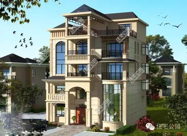 别墅是现代新农村自建房的一个趋势