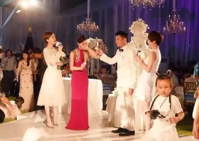 除了舒淇,这些明星的婚礼也很质朴,很幸福图片