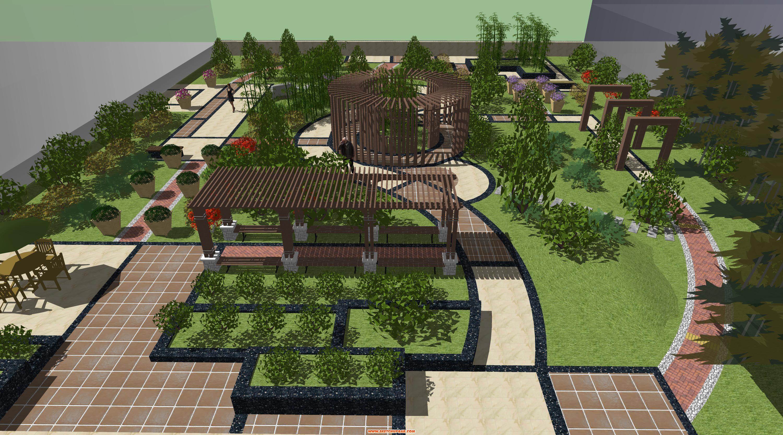 园林景观设计植物种植的原则