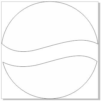 菜单  黑白色手绘简约边框
