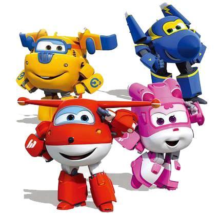 奥迪双钻超级飞侠变形机器人遥控小飞机玩具迷