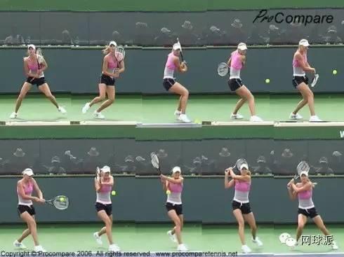 动作大全:网球明星们的发球,正手,双反,单反的技术图片
