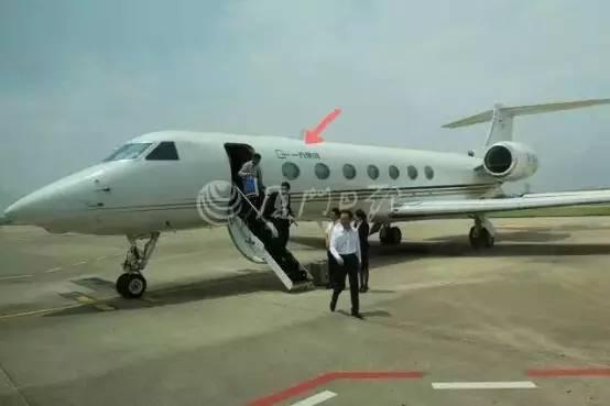 王健林乘私人飞机来厦门啦!