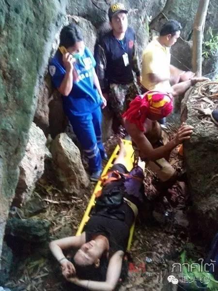 美国游客泰国甲米问路遭性侵逃跑时坠绝壁摔断脊椎