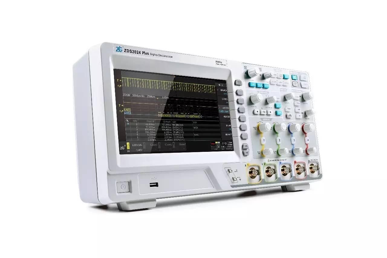 电子示波器_开启高分辨率模式,示波器分辨率最高可达16位