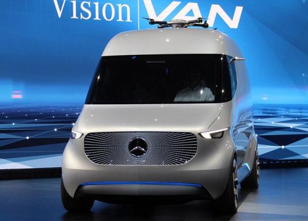发布旋转visionvan概念车纯电续航270公里cadvba奔驰图片
