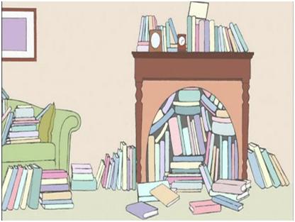 不是所有的小朋友都喜欢读书,比起电子游戏和户外活动,安静地坐下来图片