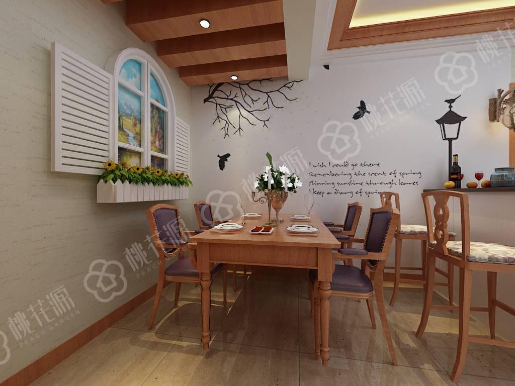 餐厅硅藻泥背景墙装修颜色如何搭配?