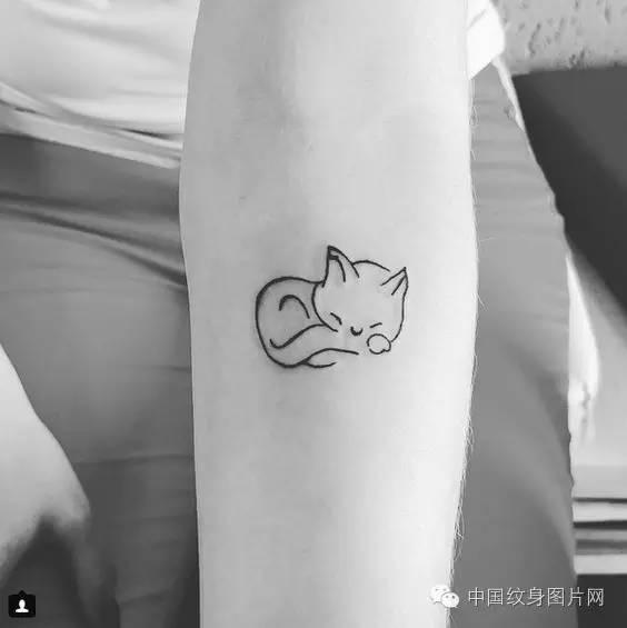 小清新纹身清新内容图片分享