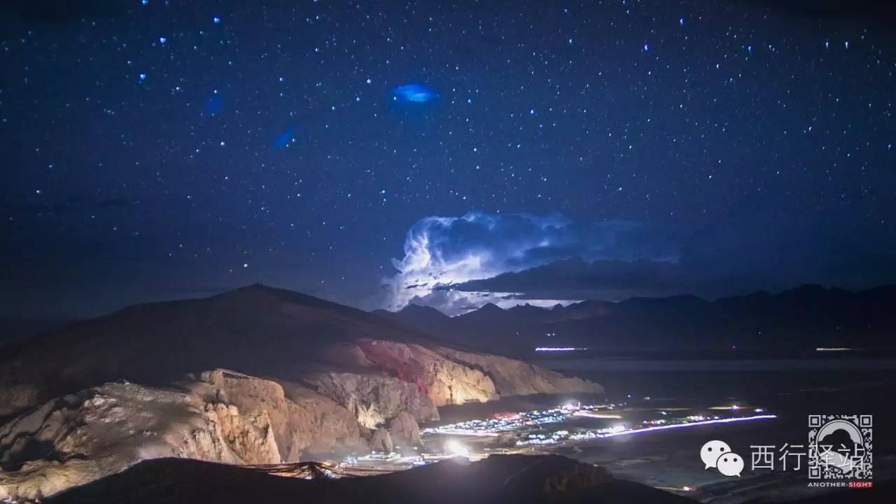 夜晚,一切就绪,v星空拍纳木错的星空,但雷雨骤至,最终只放弃.谷歌眼镜教程图片