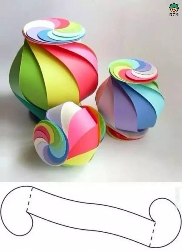 幼儿园中秋创意手工diy,和孩子一起做灯笼!棒棒的