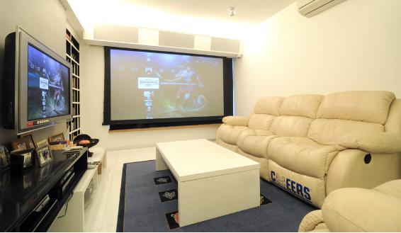 家庭影院装修设计3:家庭影院的房间比例