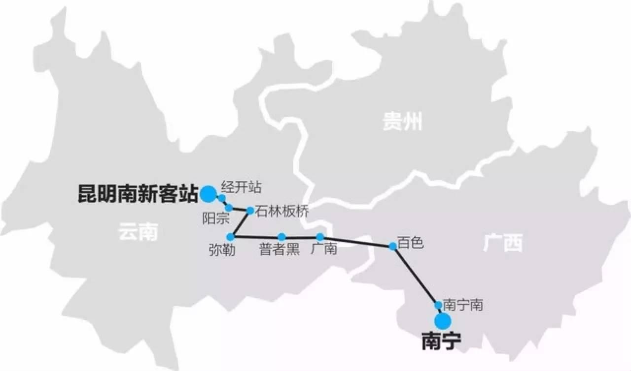 △ 中长期高速铁路网规划示意图(2030年)