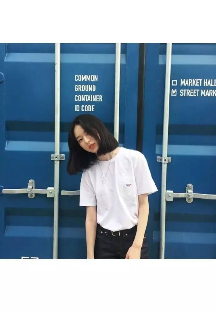 9月9壁纸原图锁屏少女女生接触自取不谢!第一次给更新短发图片
