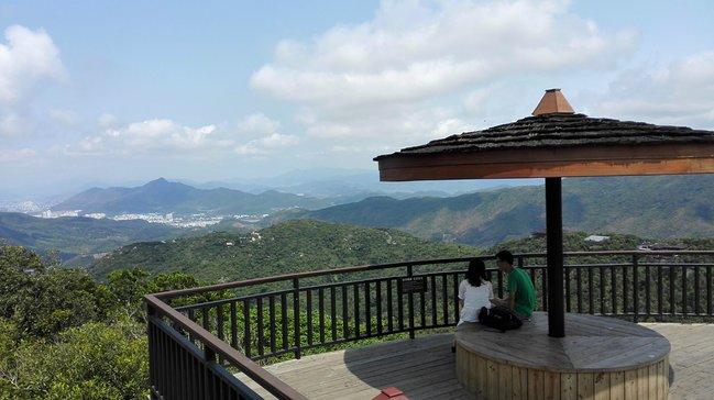 山顶观景平台