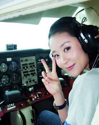 """出门靠""""私人飞机""""的明星!刘涛比范冰冰还大牌!"""