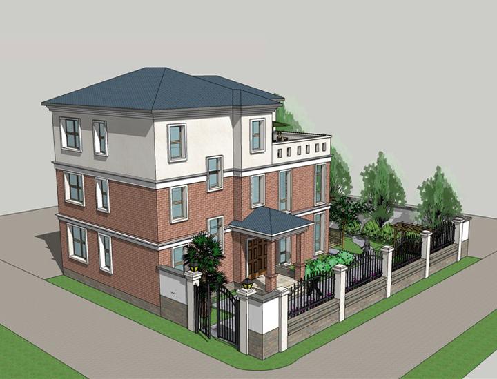 农村小伙花30万自己盖钢结构别墅 附小别墅设计图