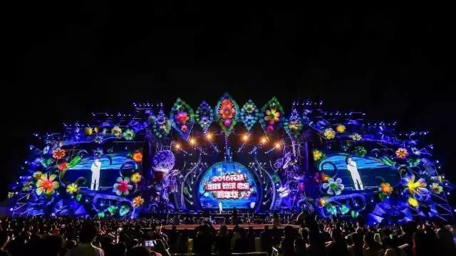 蔡依林要来银川了!这里有全国最大的音乐节舞台图片