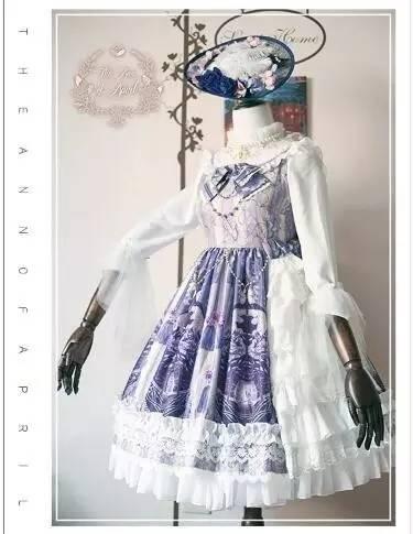 lolita文化,这些美丽的小裙子治愈了少女们成长的痛苦图片