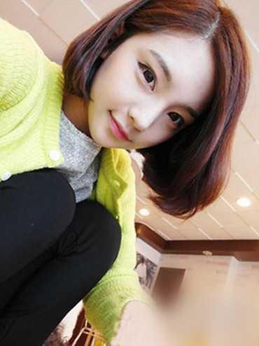 2016最流行女短发发型?韩式短直发发型3图片