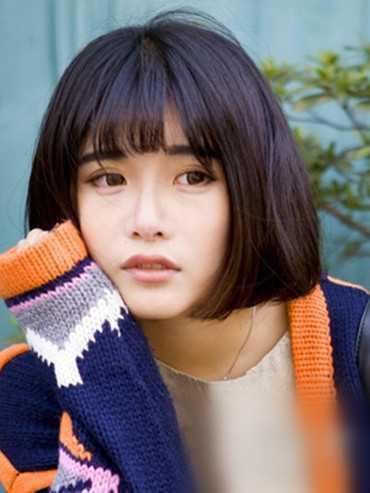 2016最流行女短发发型?韩式短直发发型2图片