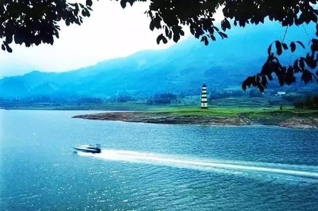 白水湖 绵阳