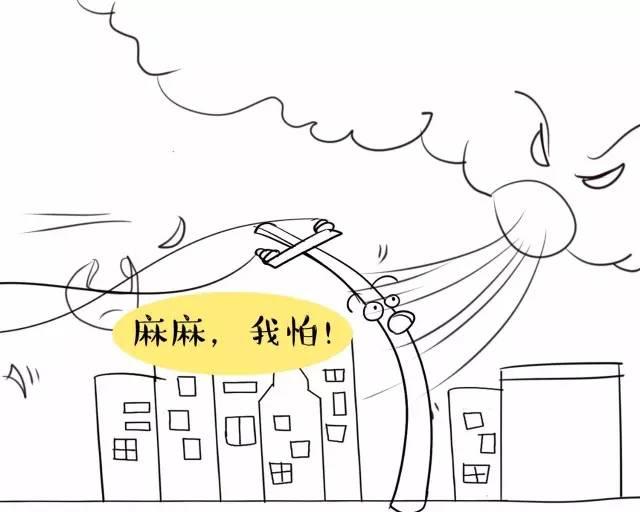 暴风雨简笔画-红色预警 2016最强台风 莫兰蒂绕过台湾直扑福建 我市