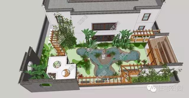 微信公众号:住宅公园,免费300套自建房别墅图纸下载,各种抗震保温的图片