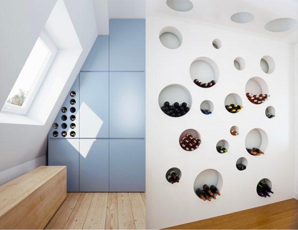 家装中创意酒柜装修设计欣赏图片