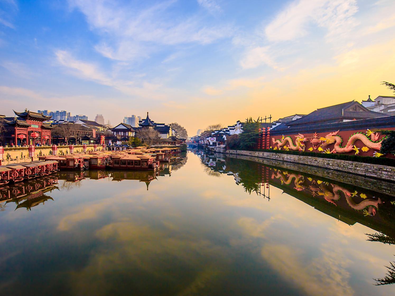 你见过这么寂静的南京夫子庙吗