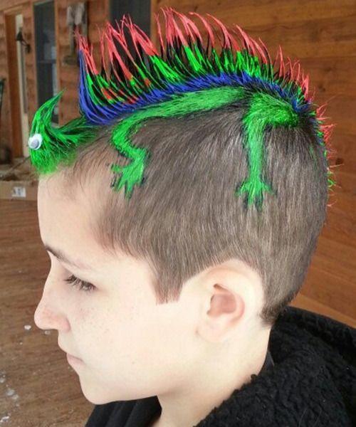 10款最疯狂的儿童创意发型 酷到让人尖叫!图片