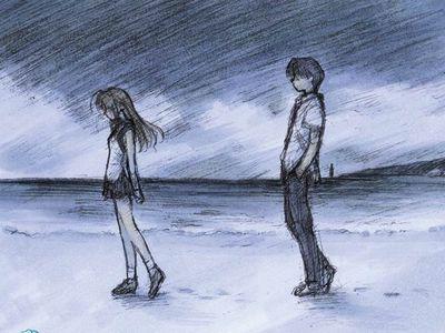 美好的爱情经不住世俗的漂白,最后的坚持也在父母苦口婆心,涕泪交织的