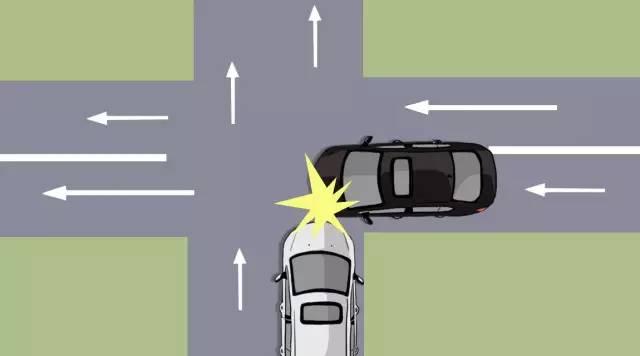 交通信号灯,交警指挥的交叉路口时,应让右方道路来车先行.