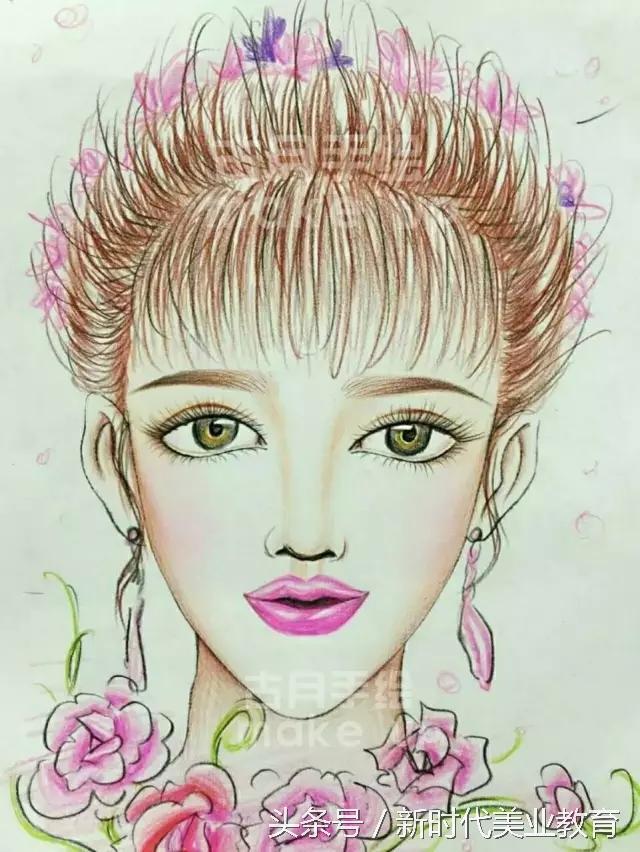 3期《国内手绘妆面图》