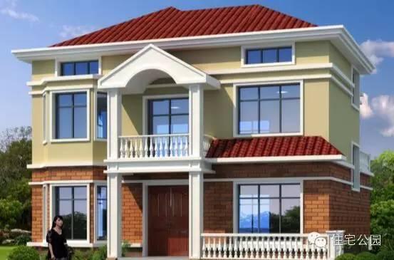 这10套别墅砖混结构,框架结构都可以建造,它们样式美观,内部格局根据