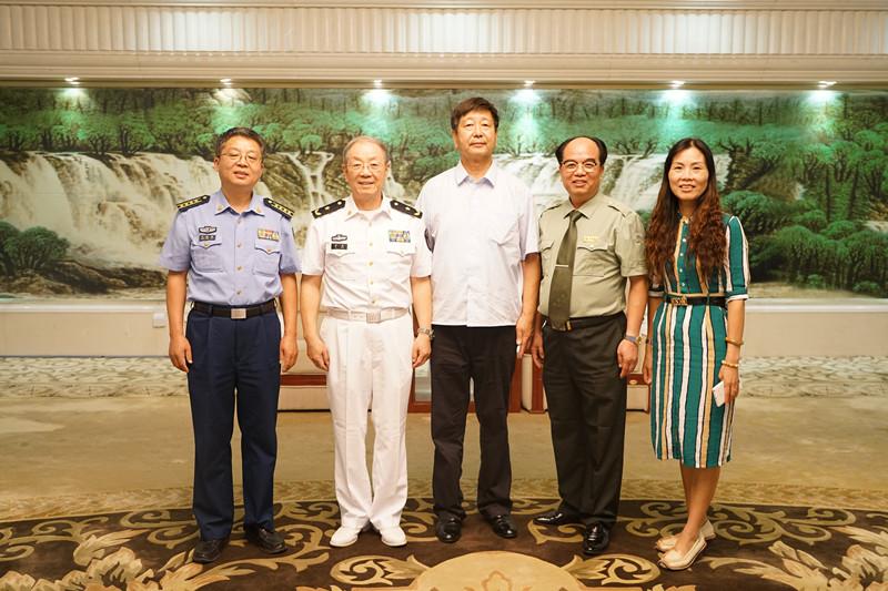 军渠集团参加全民国防教育日系列活动启动仪式
