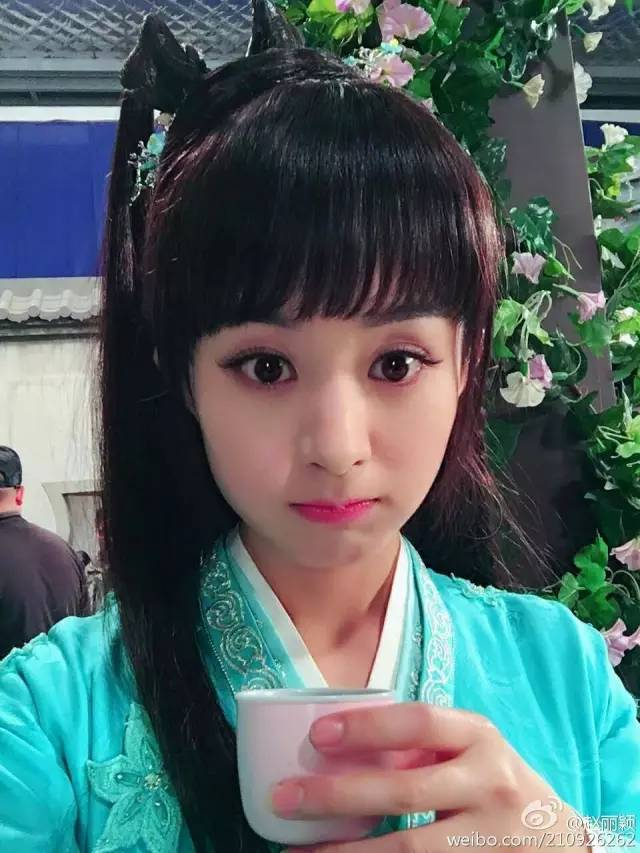 qq头像赵丽颖最漂亮的图片背影