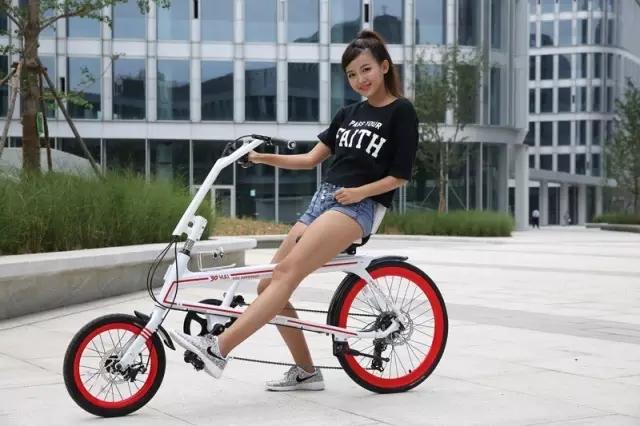 女生骑自行车有五大好处图片