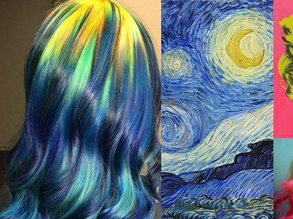 隐藏彩虹头发动图分享展示图片