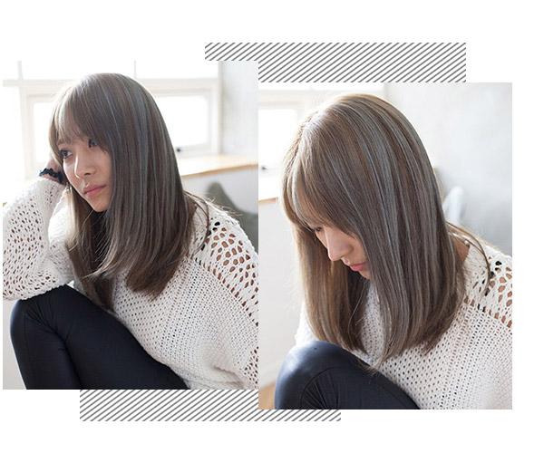 待你长发及腰 留个直发发型可好图片